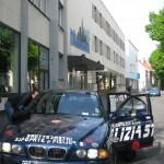 Team Polizei 144 aka Alex Roy bei Gonicus