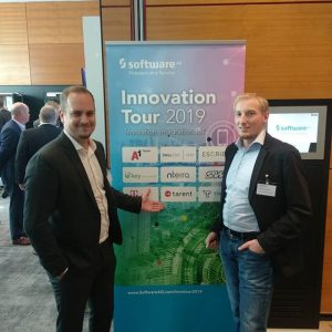 Full Stack IoT Integrator at Software AG Innovation Tour